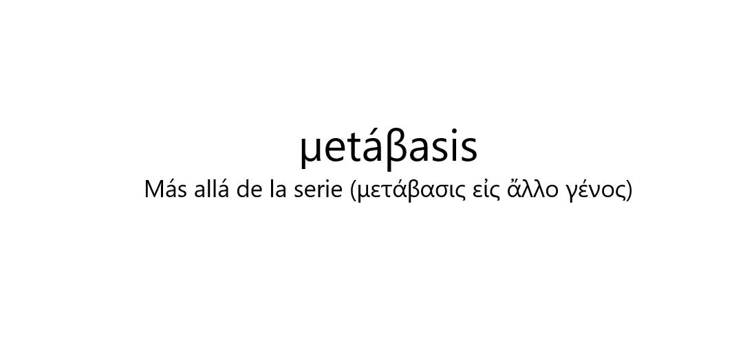 metábasis Logo