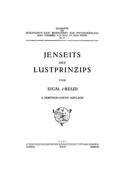 Freud lustprinzips